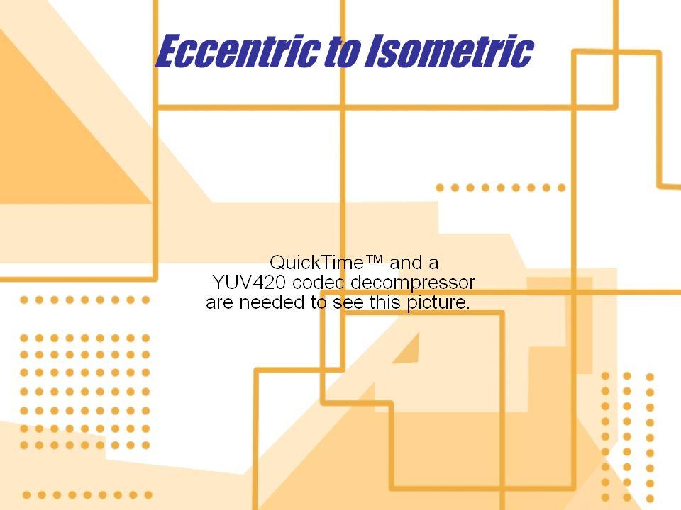 Eccentric to Isometric