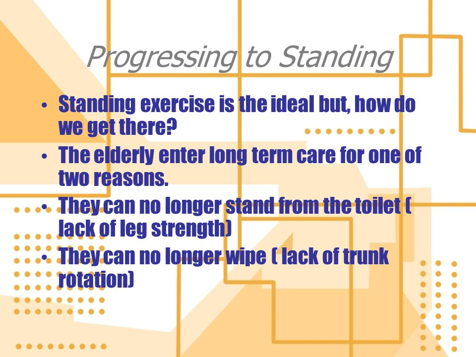 Progressing to Standing