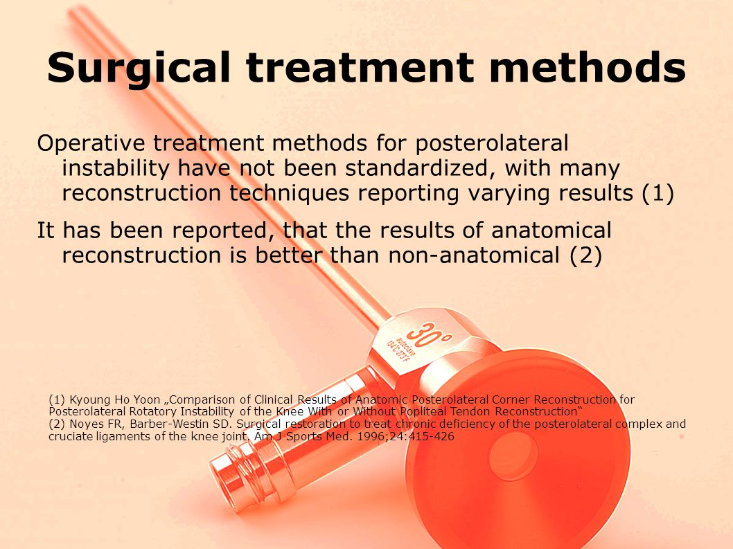 Surgical treatment methods