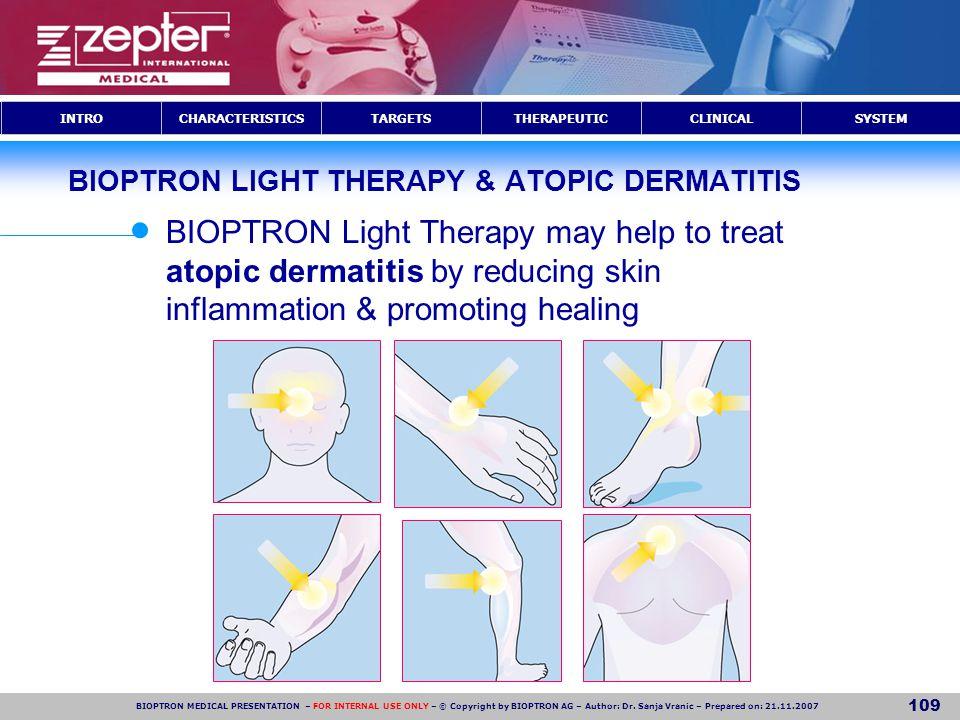BIOPTRON LIGHT THERAPY & ATOPIC DERMATITIS