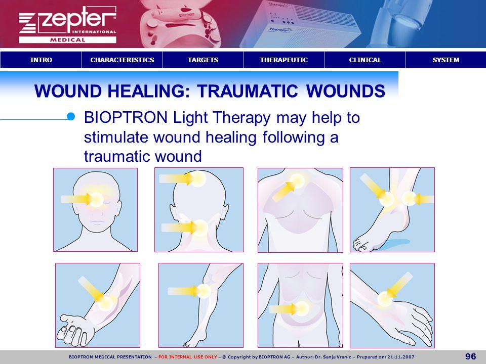WOUND HEALING: TRAUMATIC WOUNDS