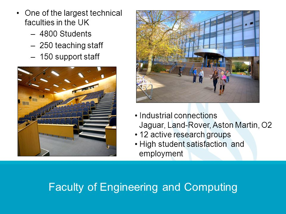 Faculty of Engineering and Computing
