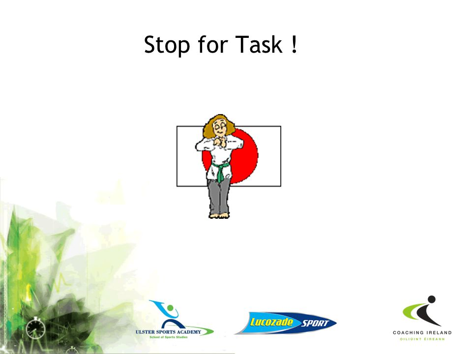 Stop for Task !