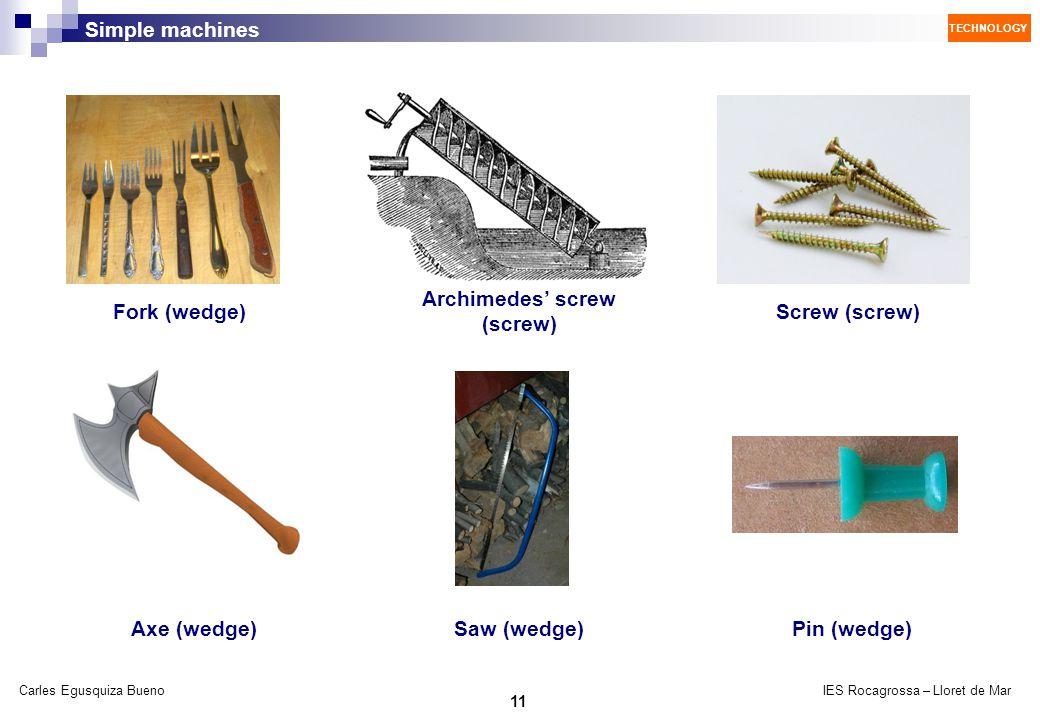Archimedes' screw (screw)