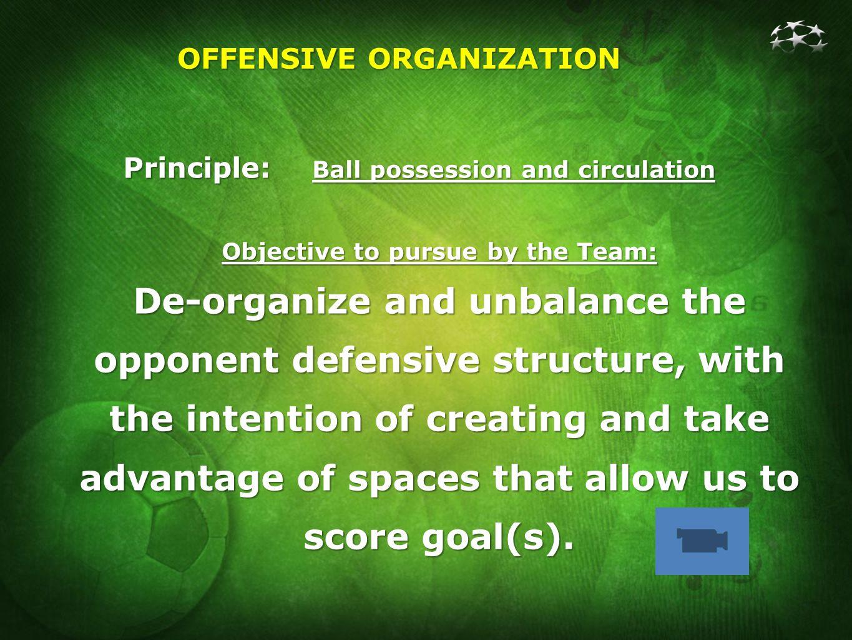 OFFENSIVE ORGANIZATION