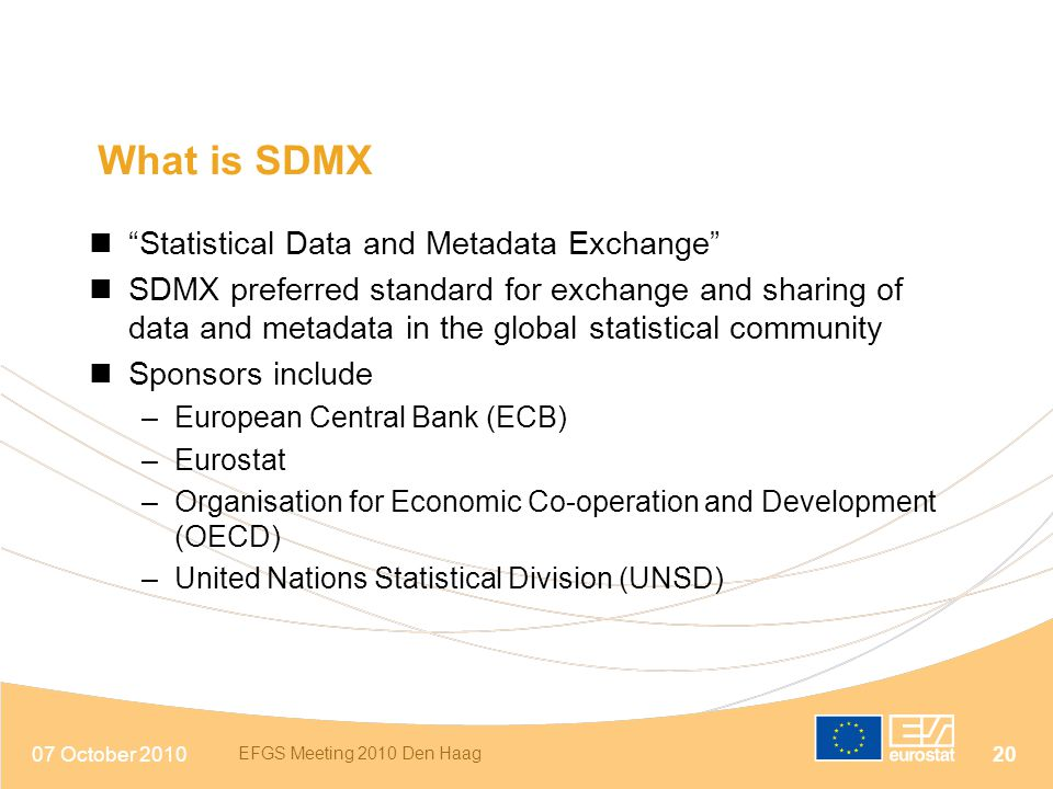 What is SDMX Statistical Data and Metadata Exchange