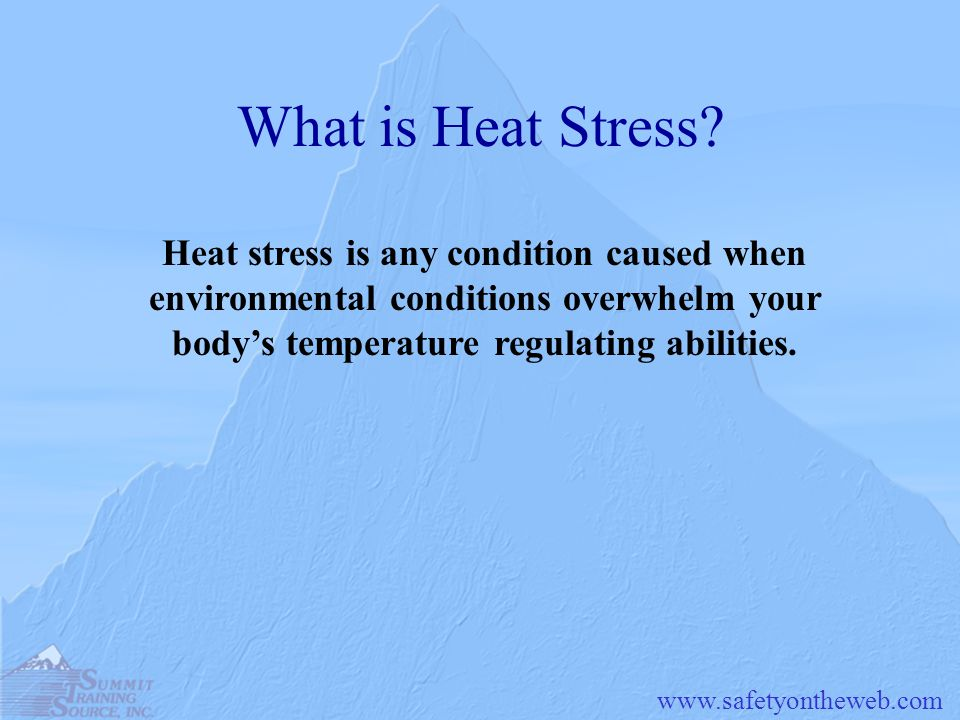 What is Heat Stress.