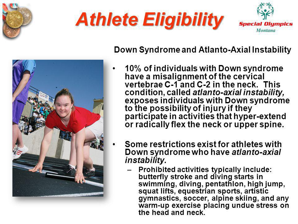 Down Syndrome and Atlanto-Axial Instability