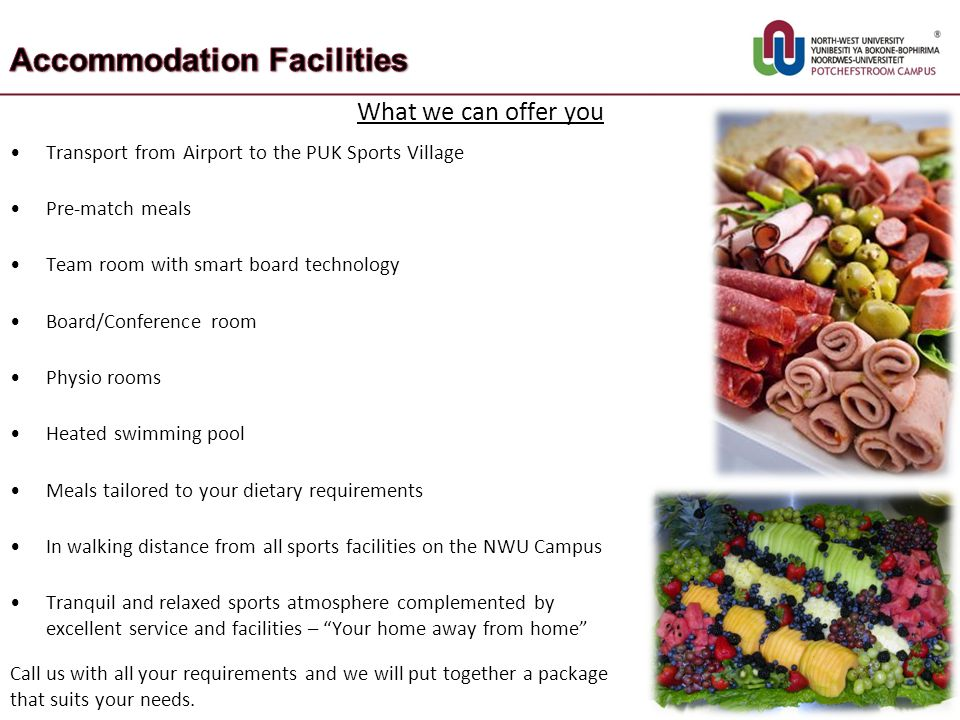 Accommodation Facilities