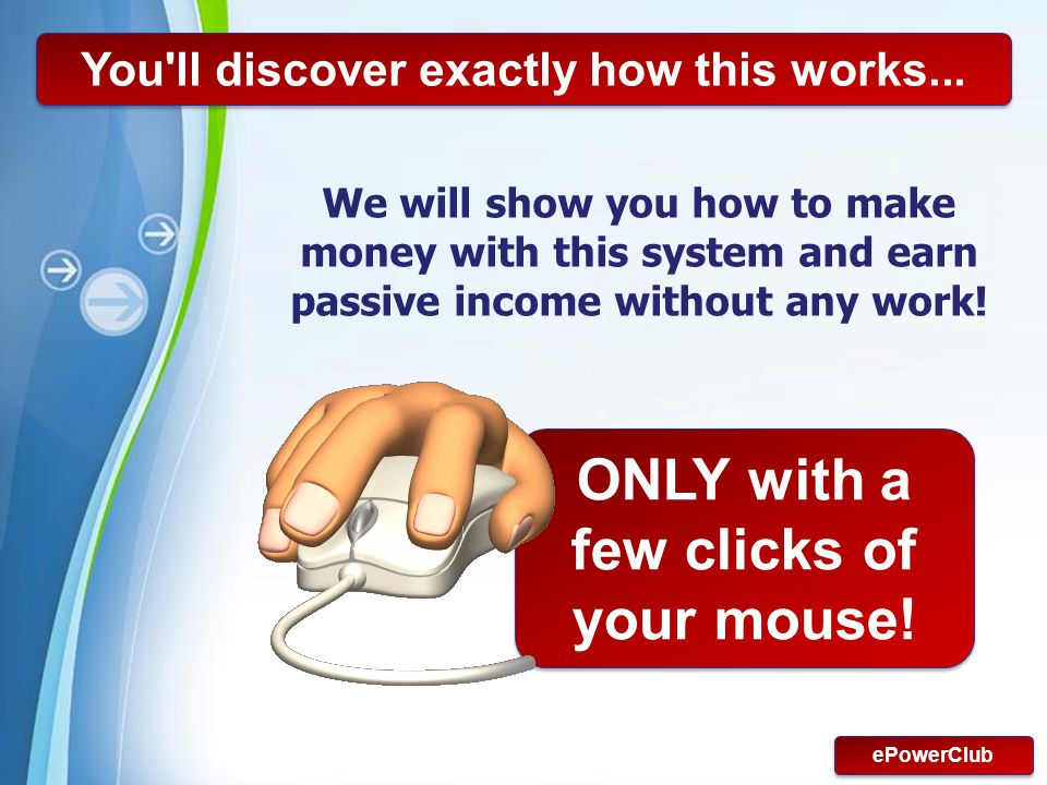 ONLY with a few clicks of your mouse!