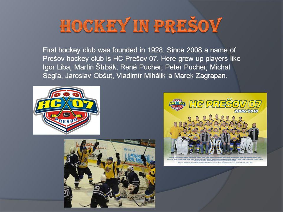 Hockey In prešov
