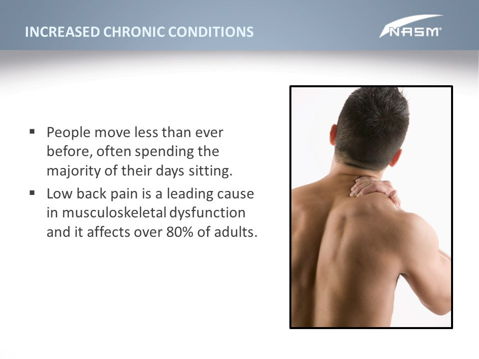 INCREASED CHRONIC CONDITIONS