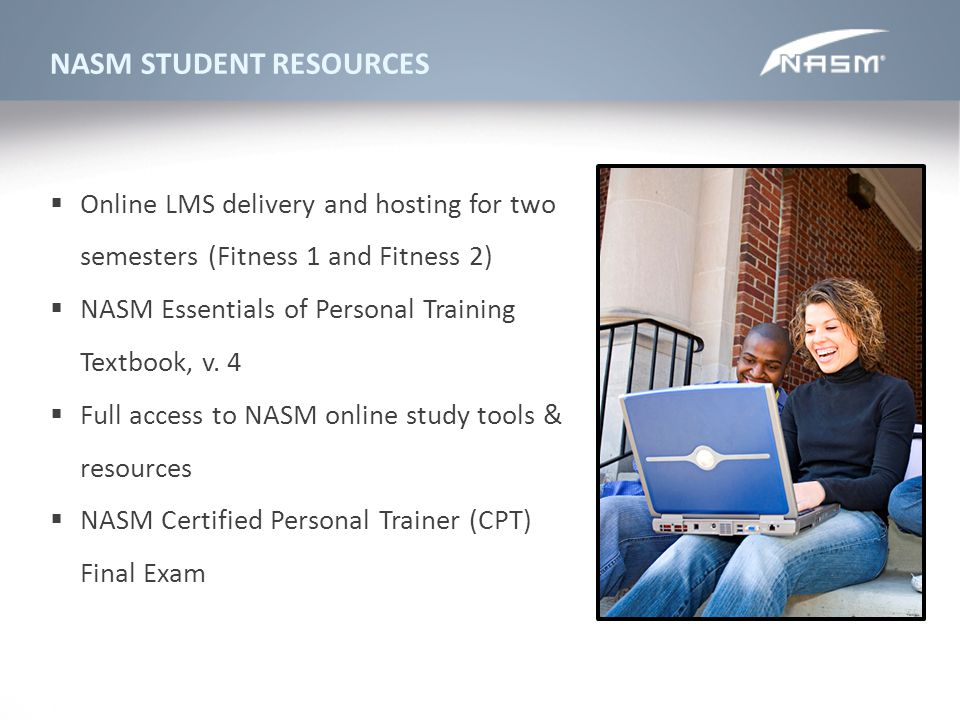 NASM STUDENT RESOURCES
