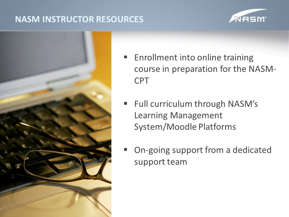 NASM INSTRUCTOR RESOURCES