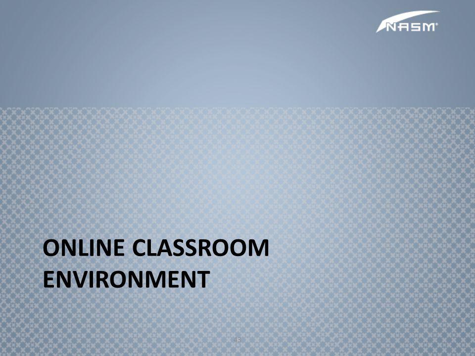 Online Classroom Environment