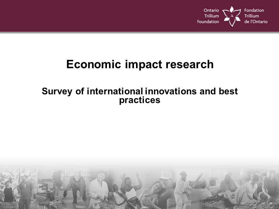 Survey of international innovations and best practices
