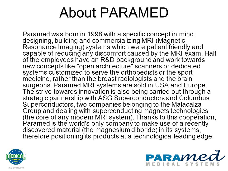 About PARAMED
