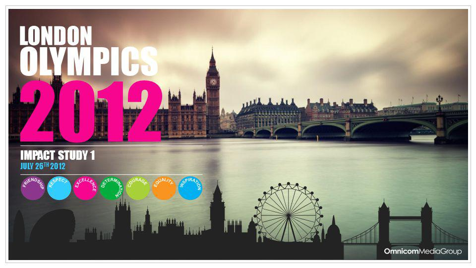 LONDON OLYMPICS 2012 IMPACT STUDY 1 JULY 26TH 2012