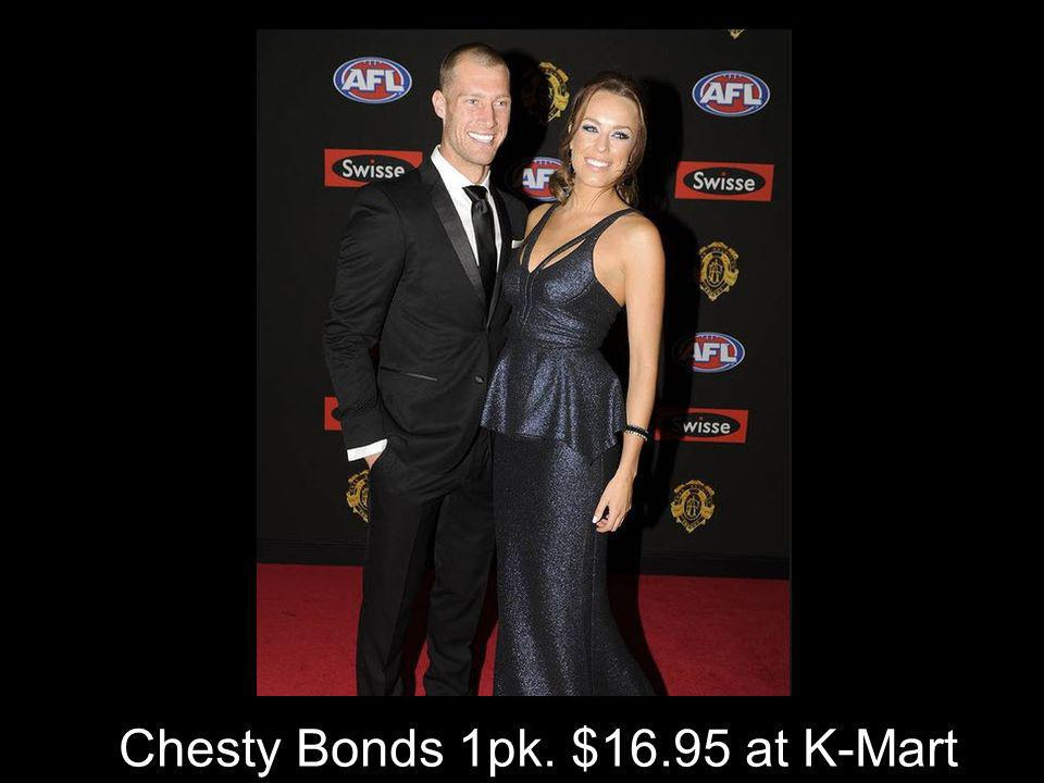 Chesty Bonds 1pk. $16.95 at K-Mart