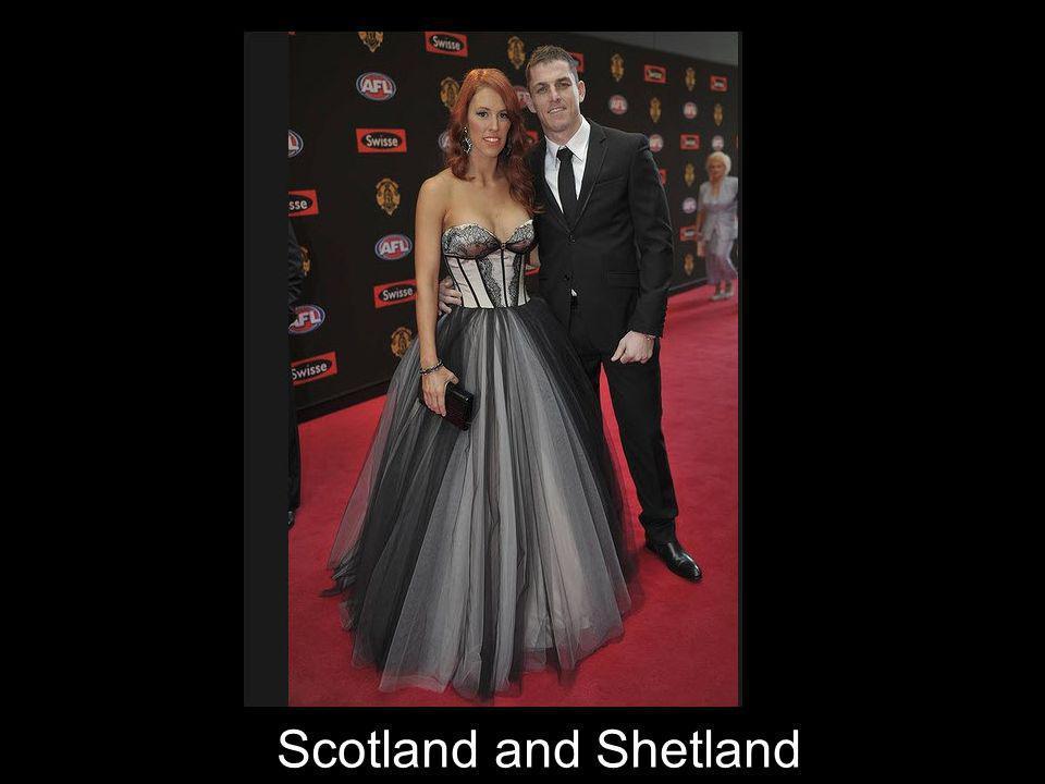 Scotland and Shetland
