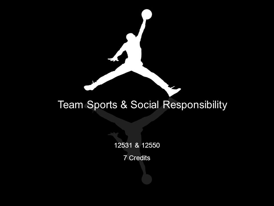 Team Sports & Social Responsibility