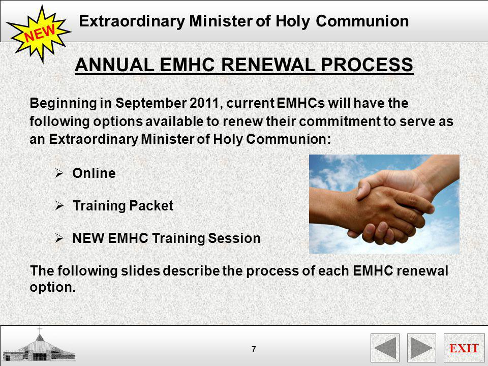 ANNUAL EMHC RENEWAL PROCESS