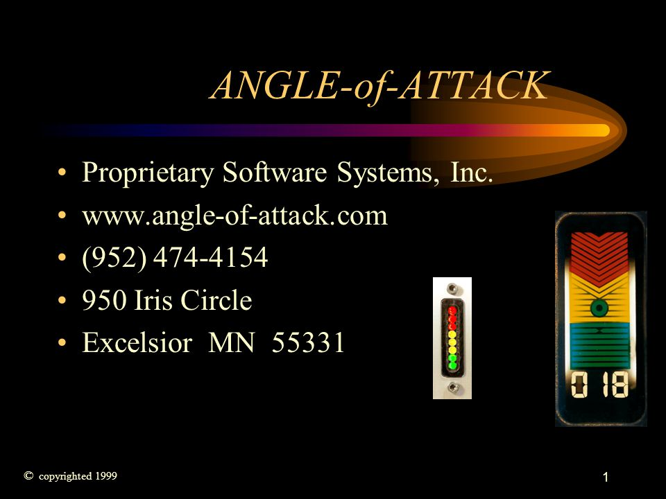 ANGLE-of-ATTACK Proprietary Software Systems, Inc.