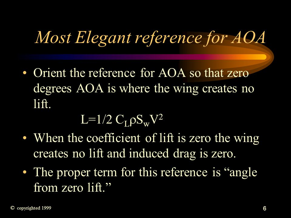 Most Elegant reference for AOA