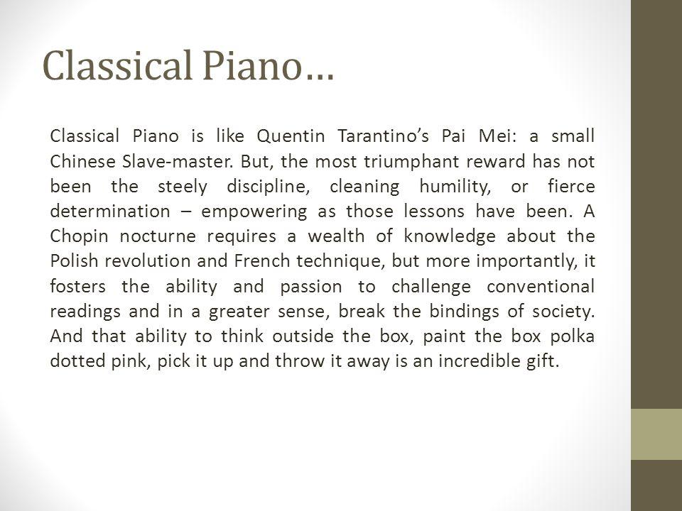 Classical Piano…