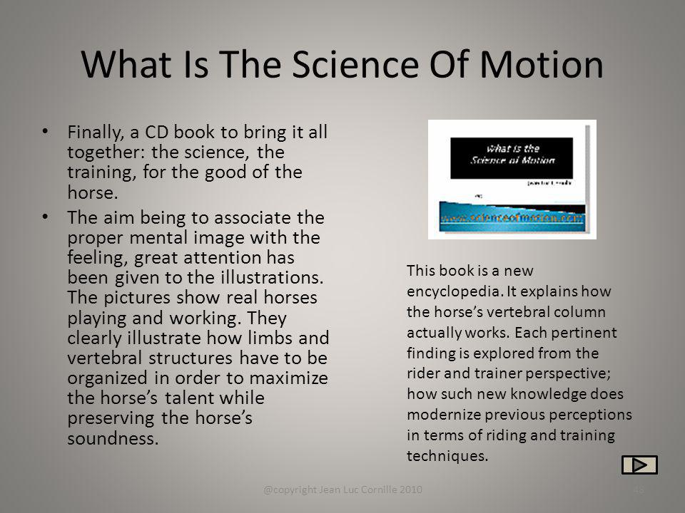 What Is The Science Of Motion