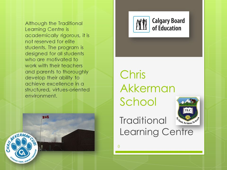 Agenda Introductions Calgary Board of Education