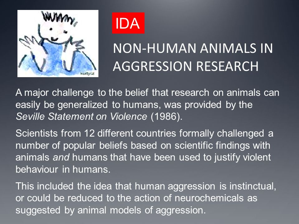 NON-HUMAN ANIMALS IN AGGRESSION RESEARCH