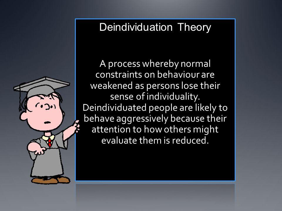 Deindividuation Theory