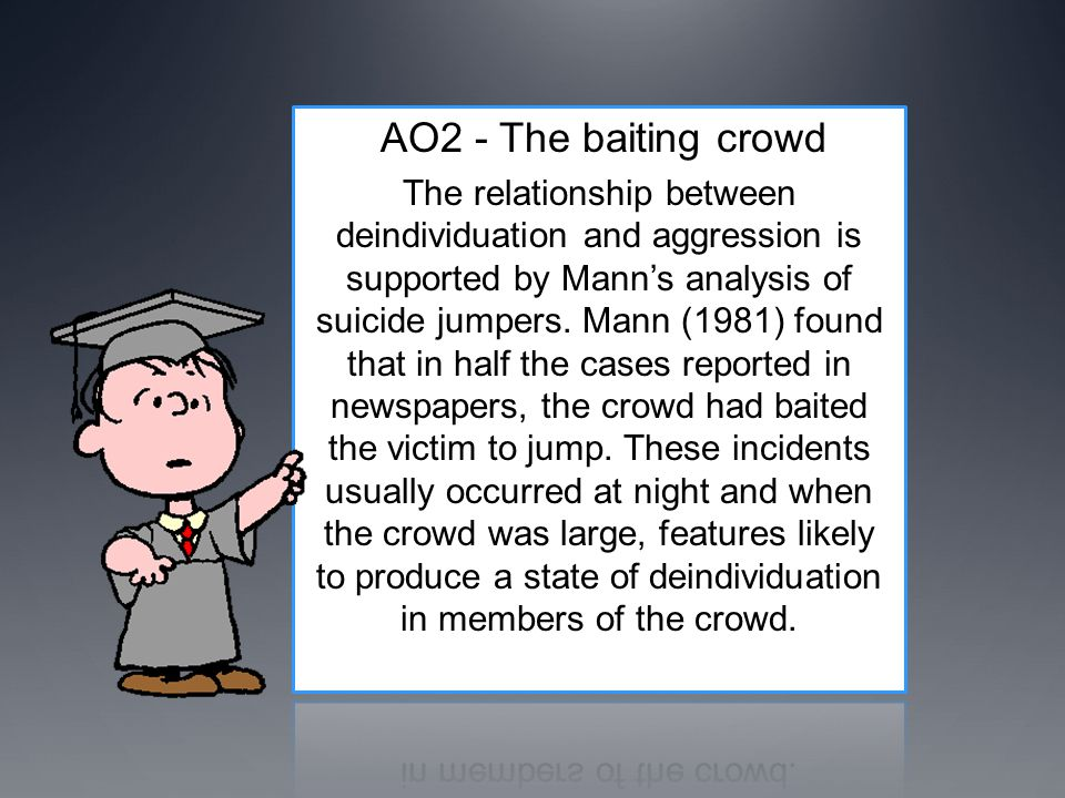 AO2 - The baiting crowd