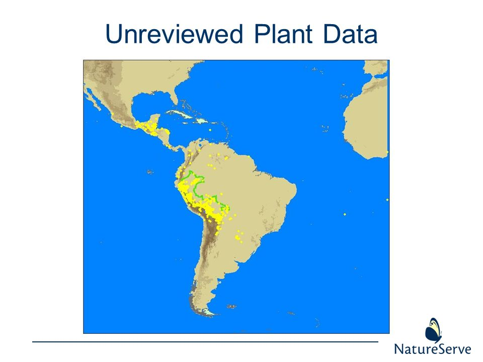 Unreviewed Plant Data