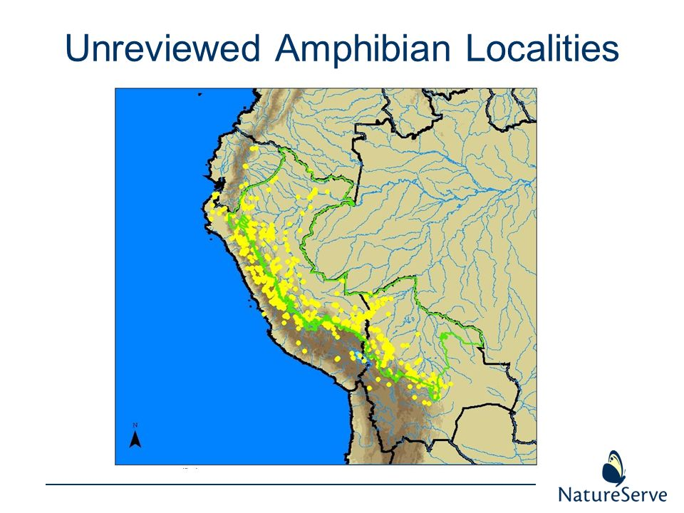 Unreviewed Amphibian Localities