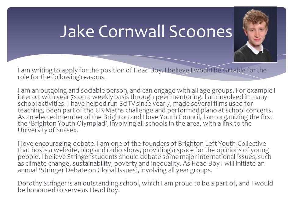 Jake Cornwall Scoones