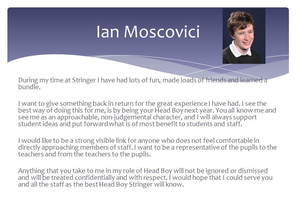 Ian Moscovici