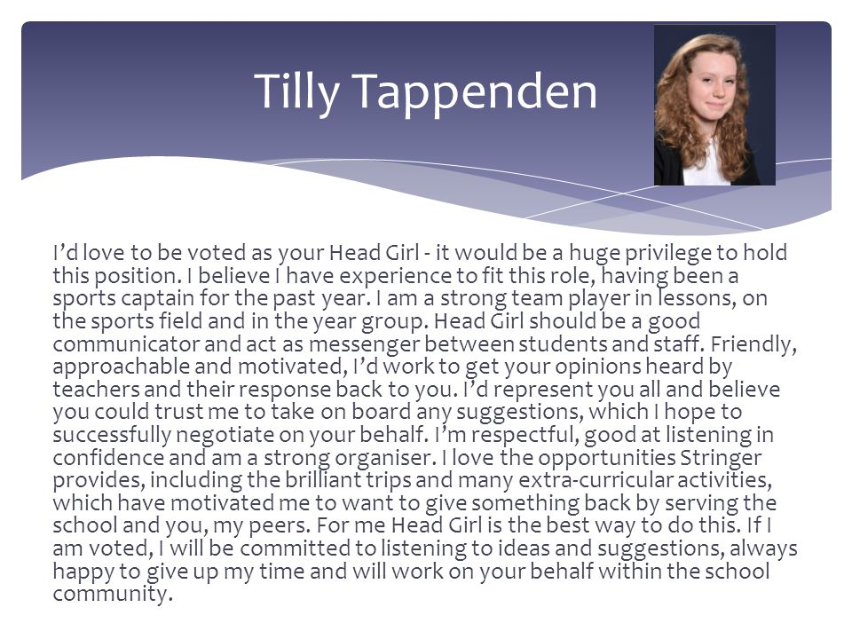 Tilly Tappenden