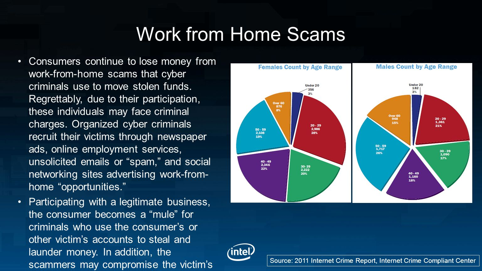 Work from Home Scams
