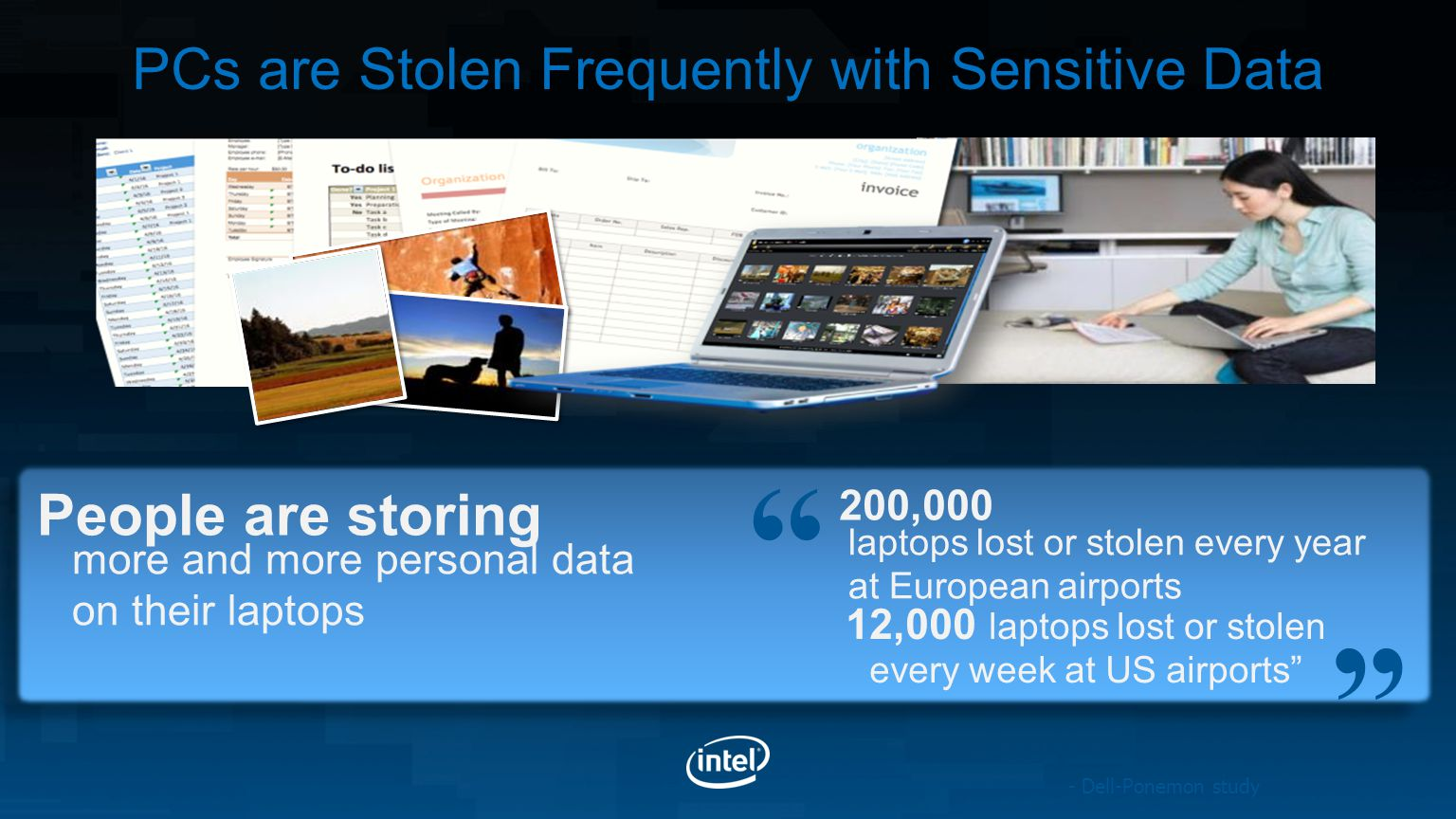 PCs are Stolen Frequently with Sensitive Data People are storing
