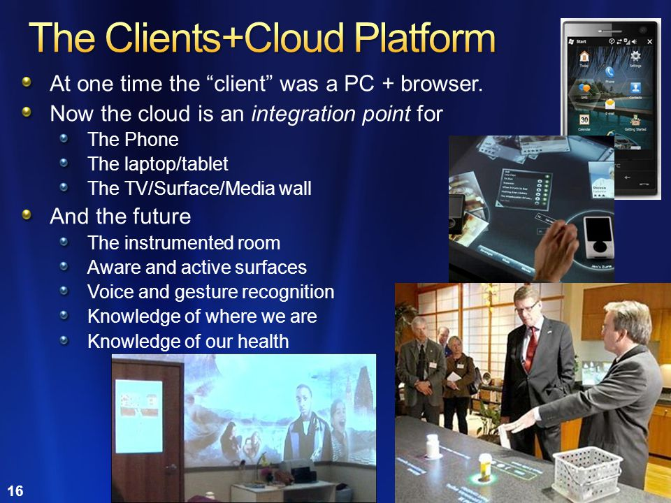 The Clients+Cloud Platform