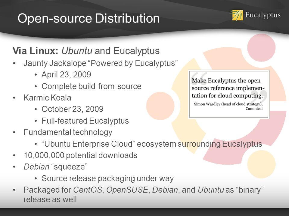 Open-source Distribution