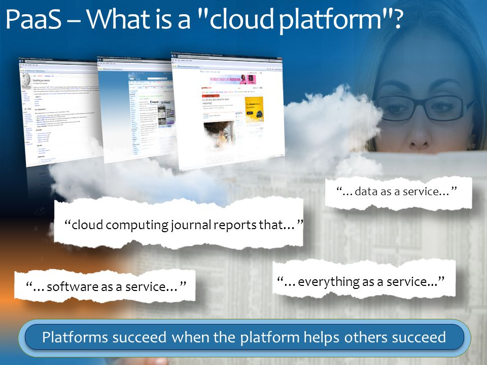 PaaS – What is a cloud platform