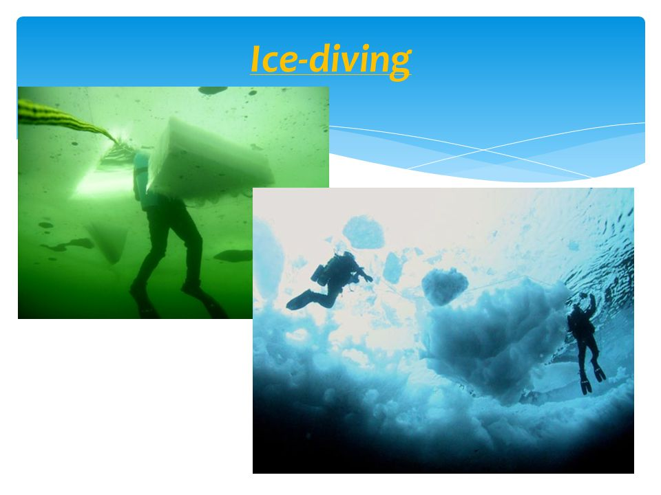 Ice-diving