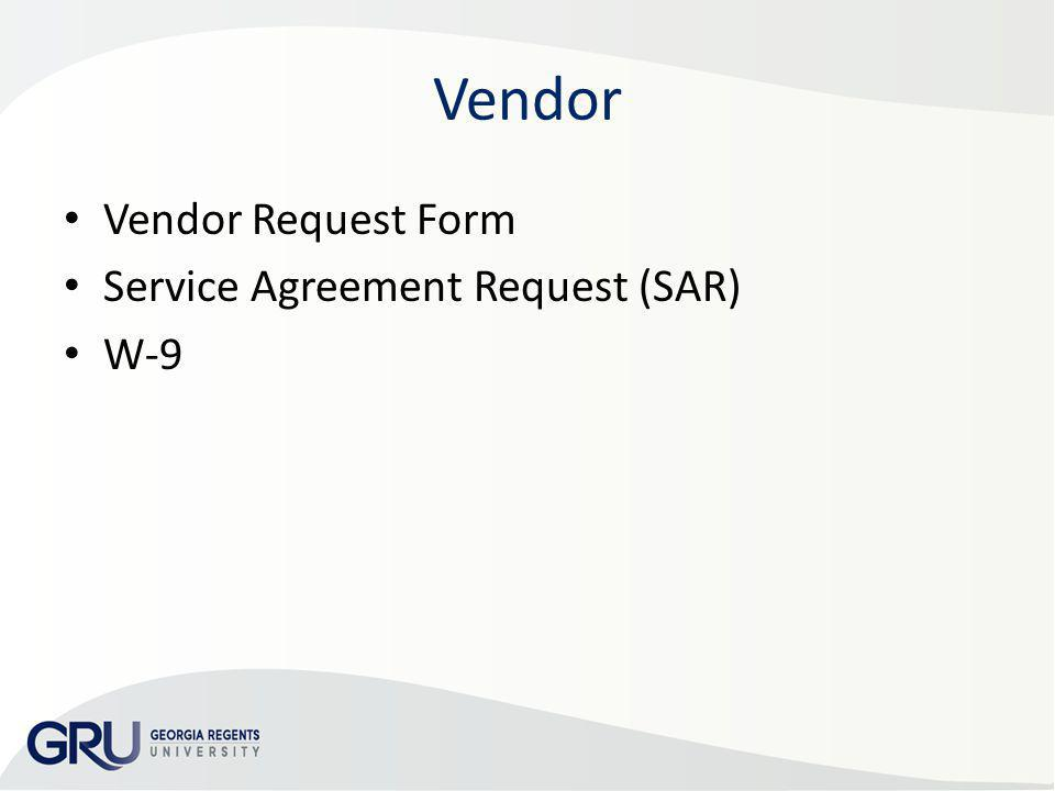 Vendor Request Form Change In Vendor Form Internal Control