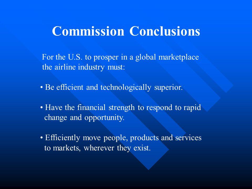 Commission Conclusions