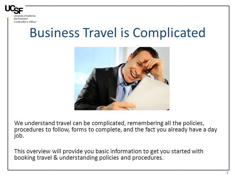 Business Travel is Complicated
