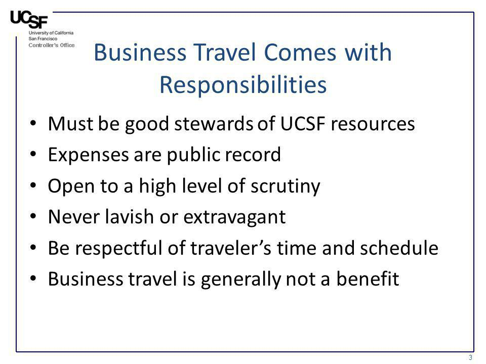 Business Travel Comes with Responsibilities
