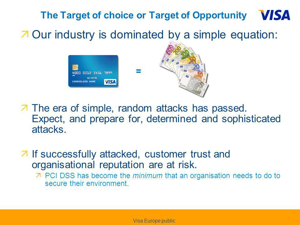 The Target of choice or Target of Opportunity